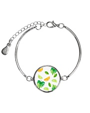 Fruit Metallic Circle Bracelet tile