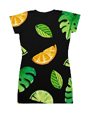 Fruit All-over Dress back
