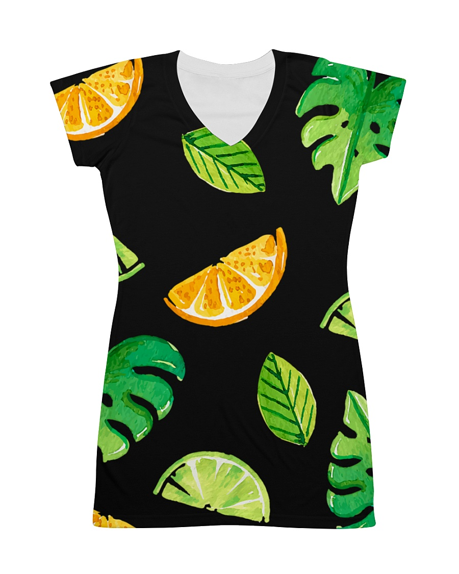 Fruit All-over Dress