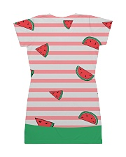 Watermelon All-over Dress back