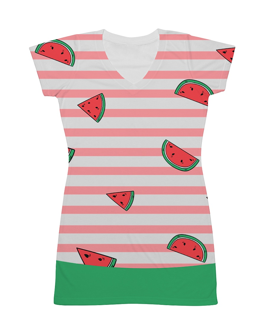 Watermelon All-over Dress