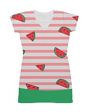Watermelon All-over Dress front