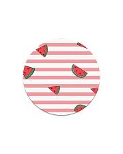 Watermelon Circle Magnet thumbnail