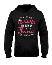 Queens Are Born In June Shirts Hooded Sweatshirt thumbnail