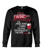 WINE LOVERS Crewneck Sweatshirt thumbnail
