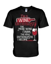WINE LOVERS V-Neck T-Shirt thumbnail