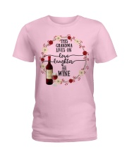 WINE LOVERS Ladies T-Shirt front