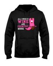 WINE LOVERS Hooded Sweatshirt thumbnail