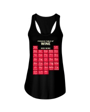 Periodic Table Red Wine Ladies Flowy Tank thumbnail