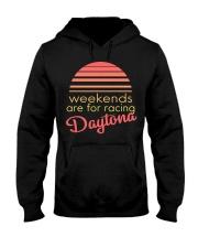 WEEKENDS ARE FOR RACING Hooded Sweatshirt thumbnail