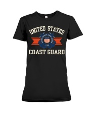 US COAST GUARD Premium Fit Ladies Tee thumbnail