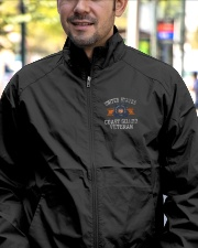 US COAST GUARD Lightweight Jacket garment-embroidery-jacket-lifestyle-02