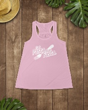 RUNNER T-SHIRT Ladies Flowy Tank lifestyle-bellaflowy-tank-front-6
