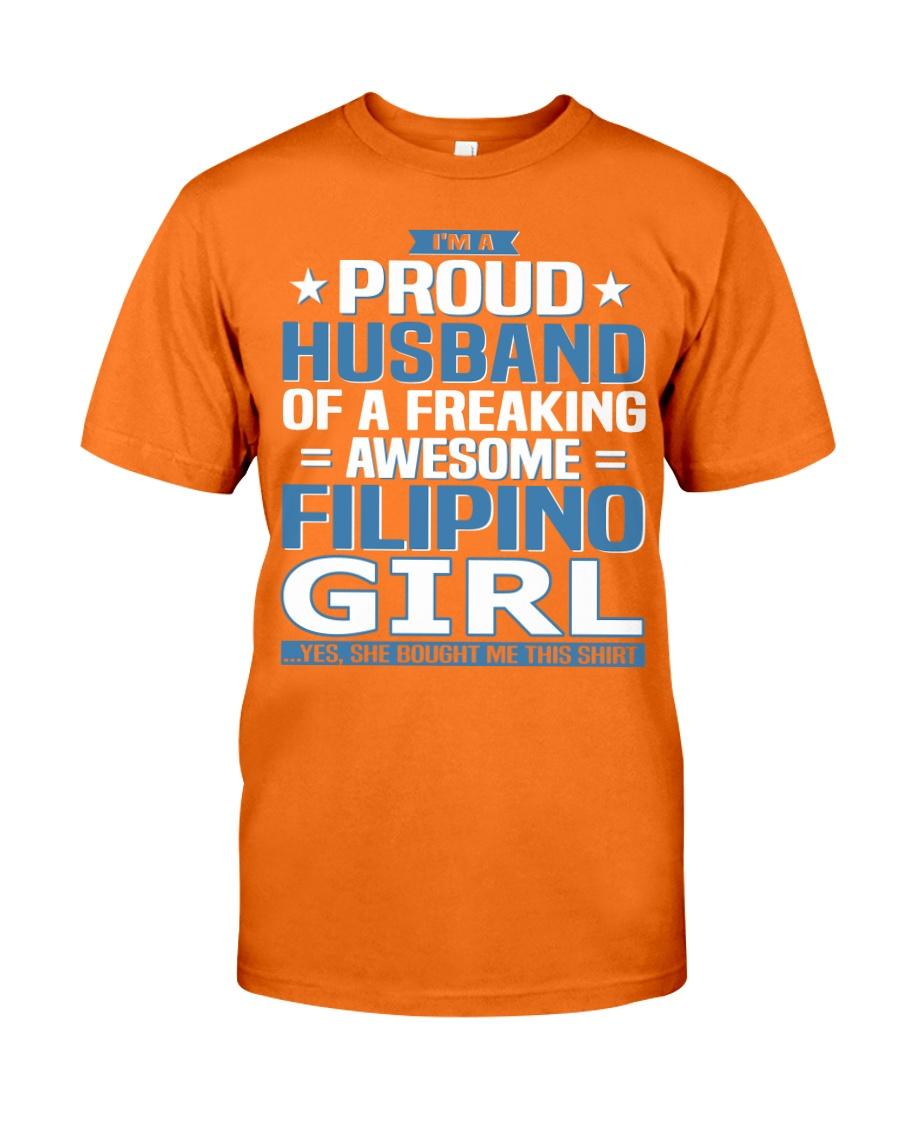 Filipino Husband  Classic T-Shirt