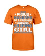 Filipino Husband  Classic T-Shirt front