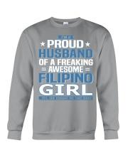Filipino Husband  Crewneck Sweatshirt front