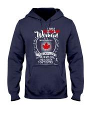I'm a Canadian Woman - I Can't Control Hooded Sweatshirt thumbnail