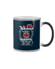 I'm a Canadian Woman - I Can't Control Color Changing Mug thumbnail