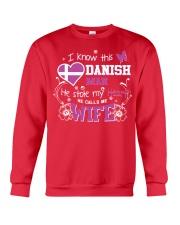 Danish Wife Crewneck Sweatshirt thumbnail