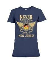 German in  New Jersey Premium Fit Ladies Tee thumbnail