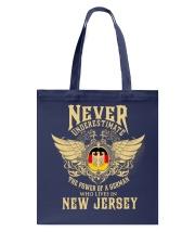 German in  New Jersey Tote Bag thumbnail