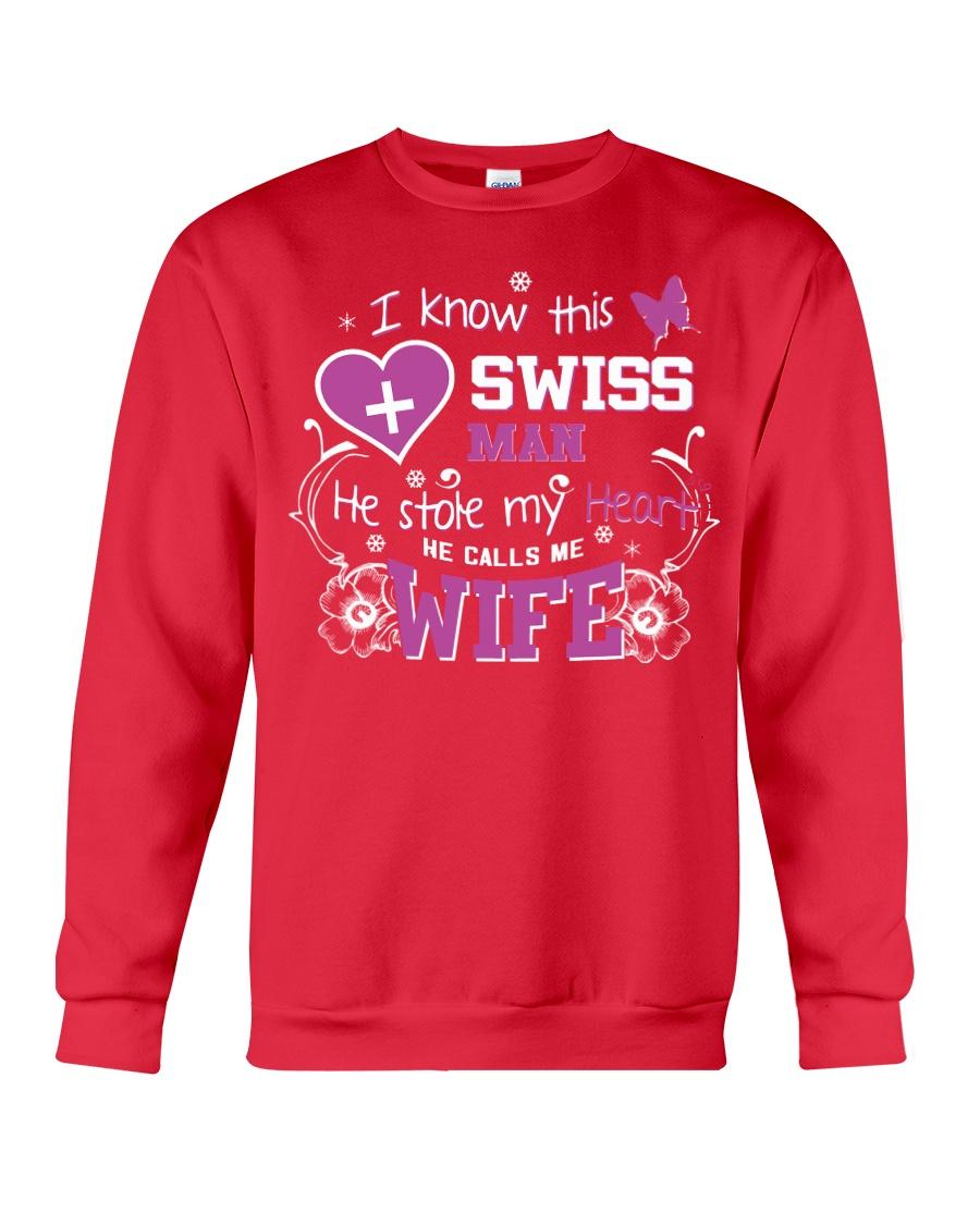 Swiss Wife Crewneck Sweatshirt
