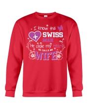 Swiss Wife Crewneck Sweatshirt thumbnail