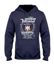 I am a German Woman - I Can't Control Hooded Sweatshirt thumbnail
