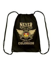 German in Colorado Drawstring Bag thumbnail
