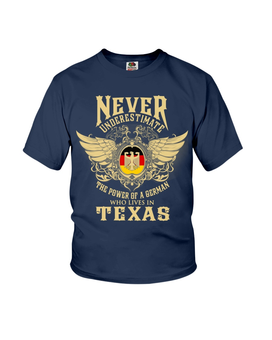 German in Texas Youth T-Shirt