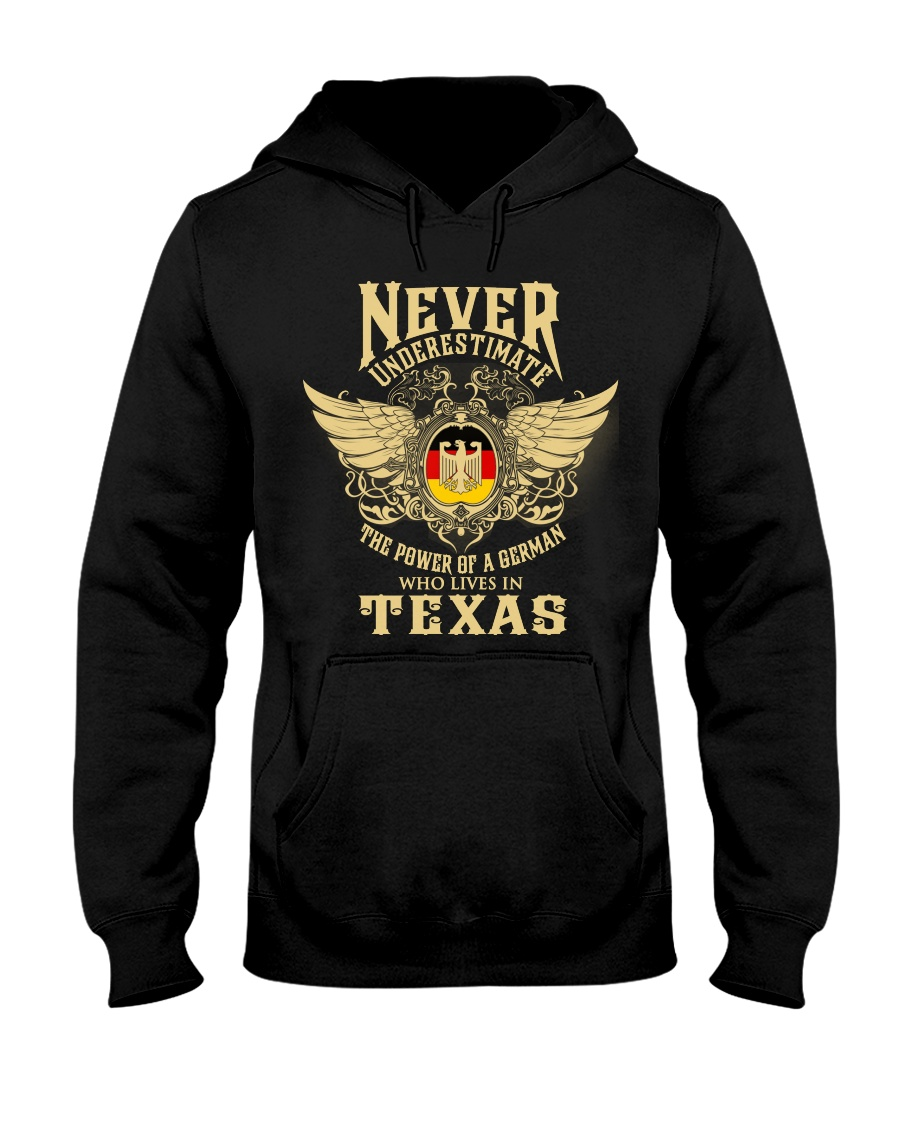 German in Texas Hooded Sweatshirt