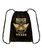 German in Texas Drawstring Bag thumbnail