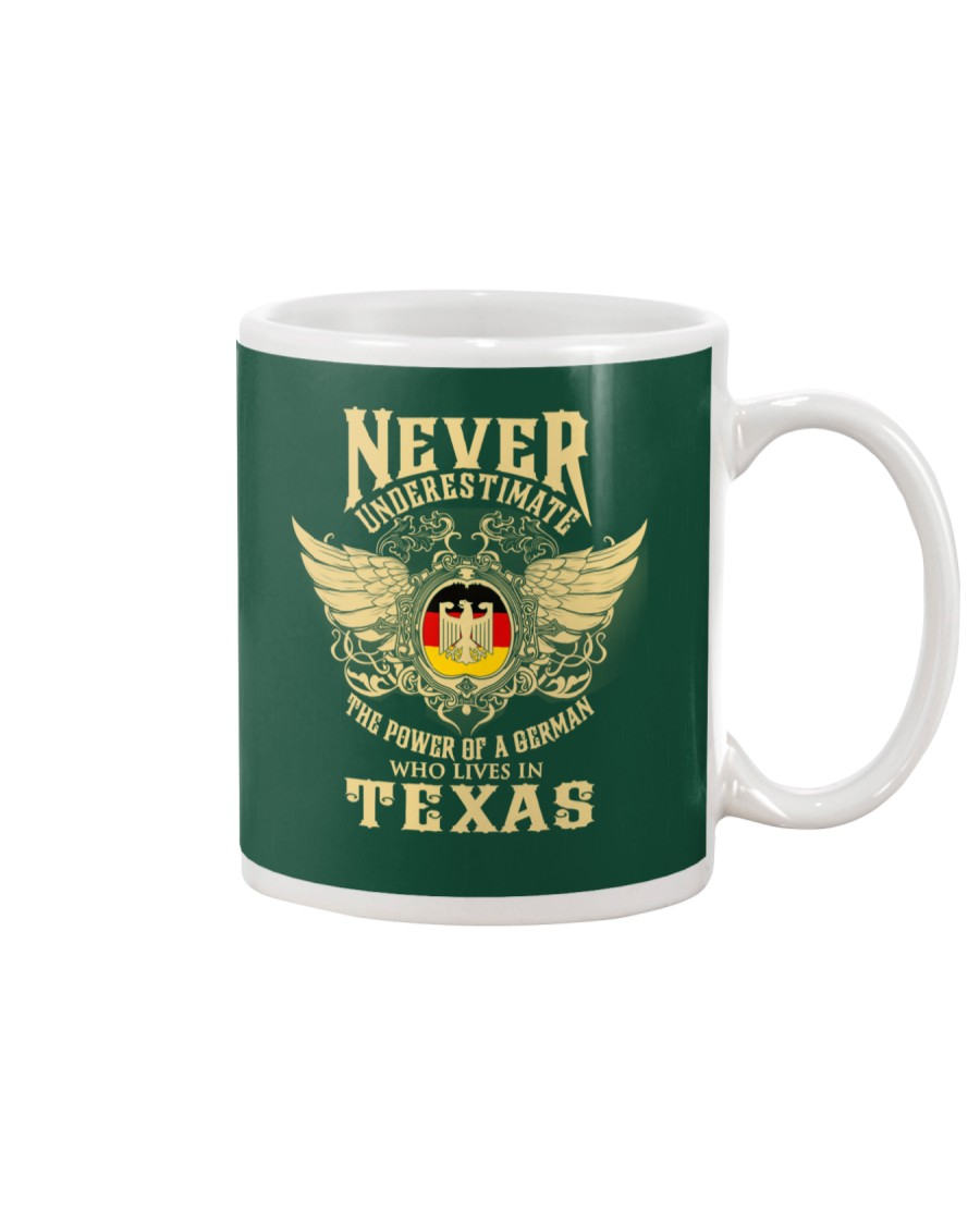 German in Texas Mug