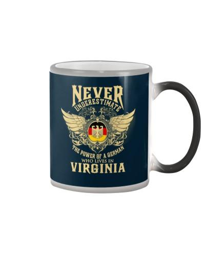 German in  Virginia