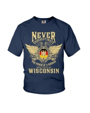 German in Wisconsin Youth T-Shirt thumbnail