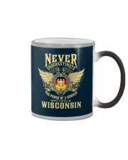 German in Wisconsin Color Changing Mug thumbnail