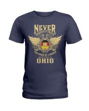 German in Ohio Ladies T-Shirt thumbnail