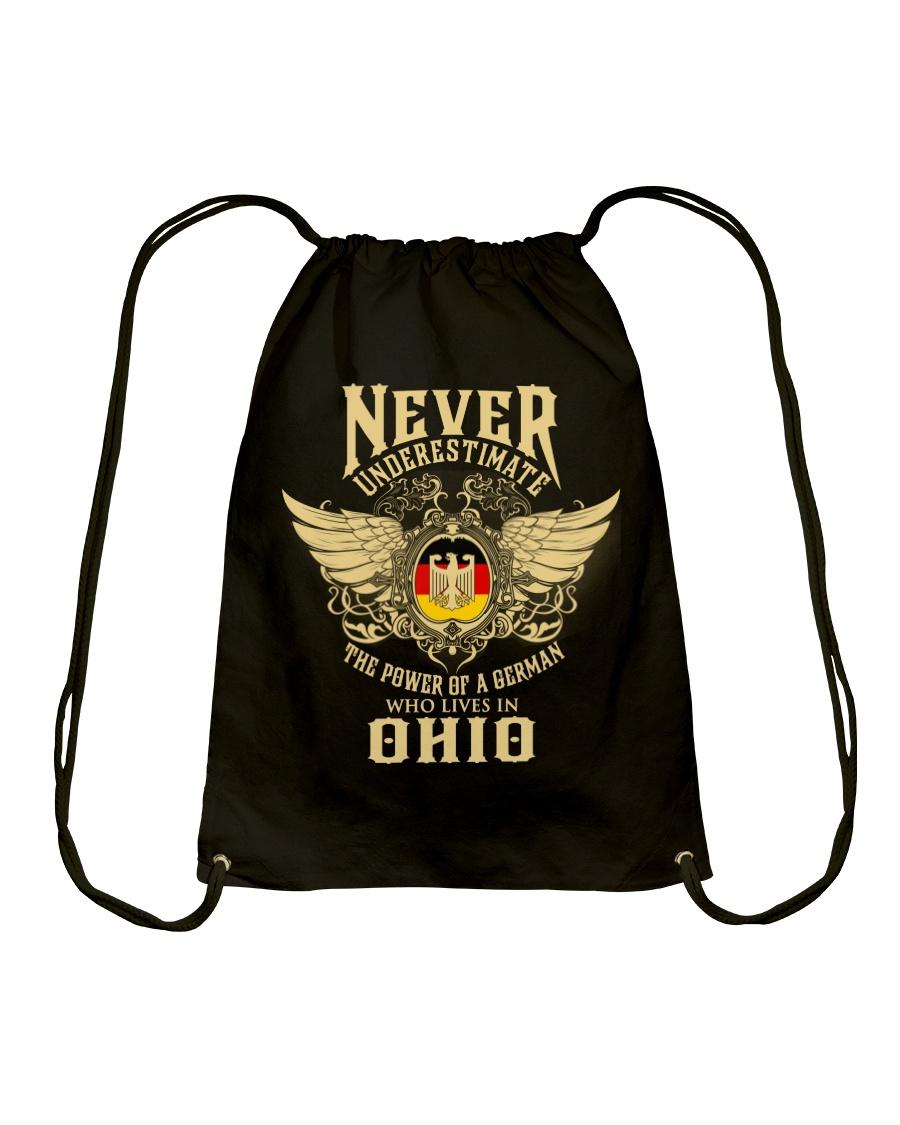German in Ohio Drawstring Bag