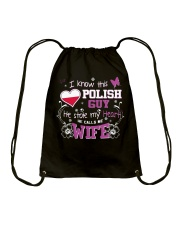 Polish Wife Drawstring Bag thumbnail