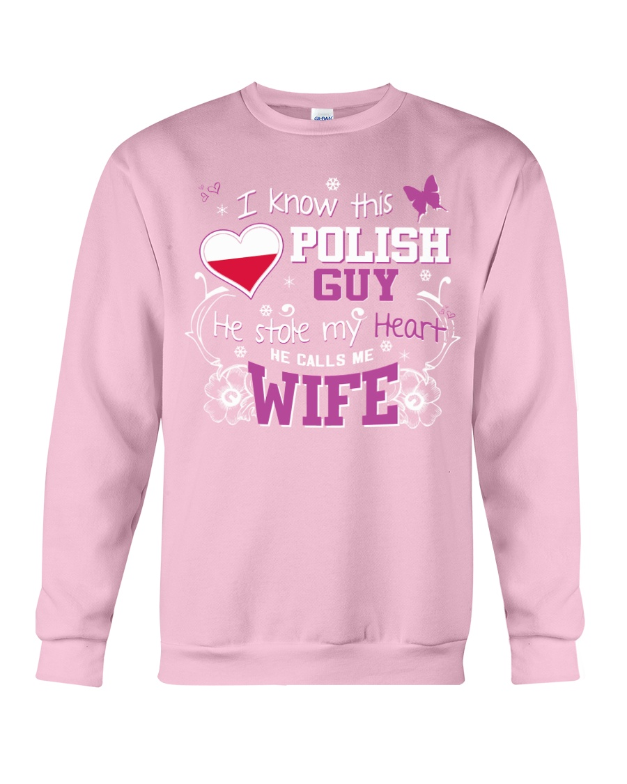 Polish Wife Crewneck Sweatshirt