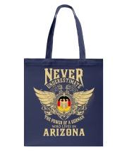 German in  Arizona Tote Bag thumbnail