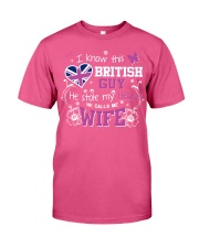 British Wife Premium Fit Mens Tee tile
