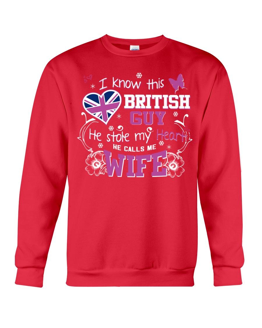 British Wife Crewneck Sweatshirt