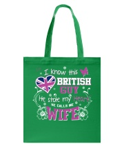 British Wife Tote Bag tile