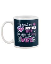 British Wife Mug back
