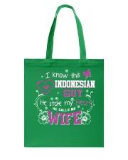 Indonesian Wife Tote Bag thumbnail