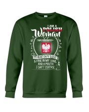 I'm a Polish Woman - I Can't Control Crewneck Sweatshirt front