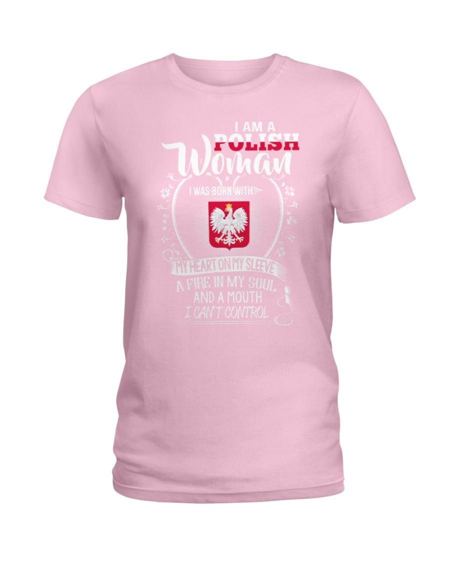 I'm a Polish Woman - I Can't Control Ladies T-Shirt