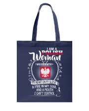 I'm a Polish Woman - I Can't Control Tote Bag front