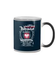 I'm a Polish Woman - I Can't Control Color Changing Mug thumbnail